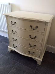 SOLD - Shabby Chic Chest of Drawers in Autentico Antique White