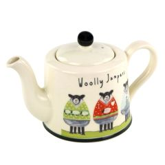Wooly Jumpers Teapot by Moorland Pottery