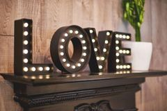 Marquee Letters LOVE word pack