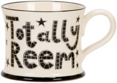 Totally Reem Mug by Moorland Pottery