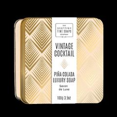 Vintage Cocktail Pina Colada Luxury Soap