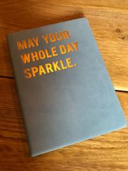 Cloud Nine May Your Whole Day.. A6 notebook