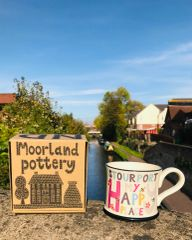 My Happy Place 'STOURPORT' Mug by Moorland Pottery