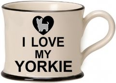 I love my Yorkie Mug by Moorland Pottery