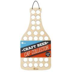 Craft Beer Cap Collector