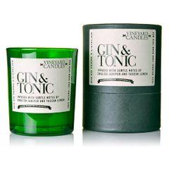 Gin & Tonic Vineyard Shot Glass Candle