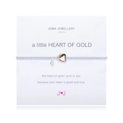 A LITTLE HEART OF GOLD GOLD PLATED HEART by Joma