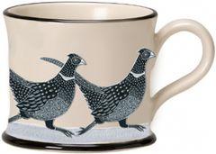 Pheasant Mug by Moorland Pottery