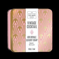 Vintage Cocktail Kir Royale Luxury Soap
