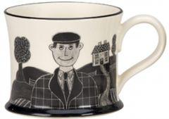 Country Boy Mug by Moorland Pottery