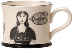 Boston Black Country Wench Mug by Moorland Pottery