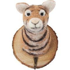 Felt Tiger Head
