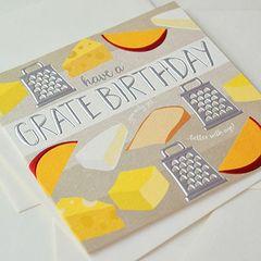 Grate Birthday Card