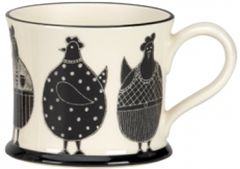 Chicken Mug by Moorland Pottery