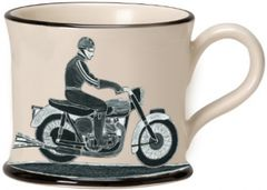 Born to Ride Mug by Moorland Pottery