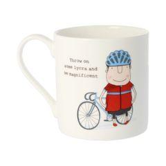Throw on some Lycra - Rosie Made a Thing Mug