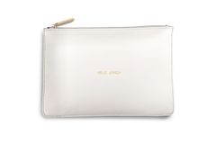 HELLO LOVELY PERFECT POUCH CHALKY WHITE by Katie Loxton