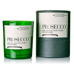 Prosecco Vineyard Shot Glass Candle