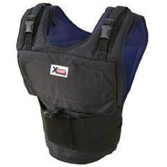 X4020 - The X4020 Xvest with 20 one pound weights. The X4020 Xvest can hold up to 40 pounds of weights.