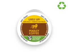 Marley RealCup Lively Up, Espresso Dark Organic 24 ct