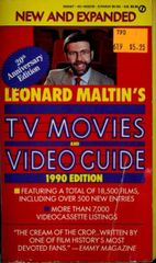 Leonard Maltin's TV Movies and Video Guide 1990 Edition