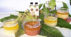 Ginger Honey Scrub 1/2 gal