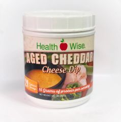 Aged Cheddar Cheese Dip (21 servings) - High Protein