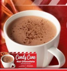 Candy Cane Hot Chocolate (28 servings per canister)
