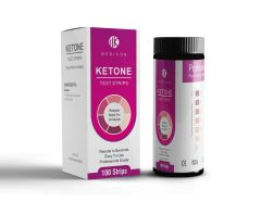 Ketone Test Strips - (100 ct.) Professional Grade, Fast Results!