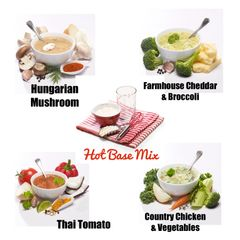 Soup Combo Pack (Base + Mix-In)