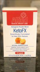 KetoFX - Ketogenic Powder Blend - Orange Cream (14 per box)