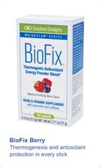 BioFix® Thermogenic Antioxidant Packets - Berry