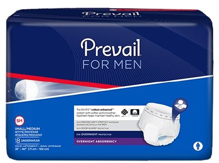 Prevail Per- Fit Adult Brief X-Large for men c/s 72