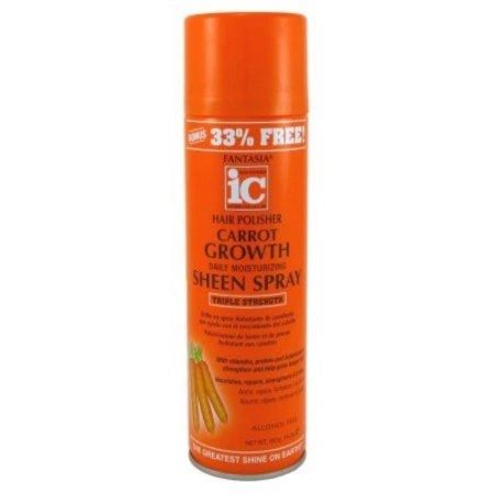 IC Carrot Growth Oil sheen Spray