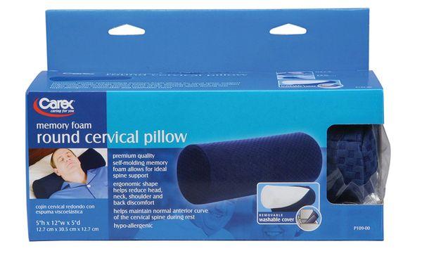 Carex Round Cervical Pillow