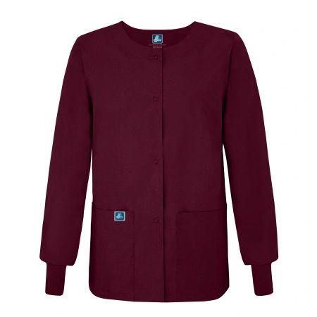 Adar Universal Round Neck Warm-Up Jacket