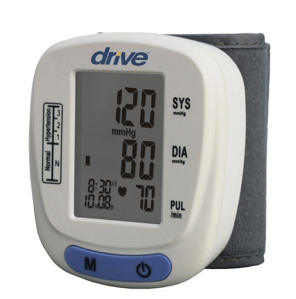 Drive Wrist Blood Pressure Monitor