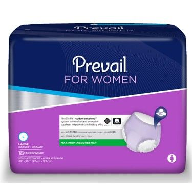 Prevail Per- Fit Adult Brief Large case (72)