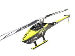 SAB GOBLIN 770 COMPETITION YELLOW/CARBON (WITH MAIN AND TAIL BLADES)