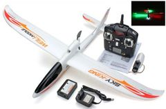 Aero RC plane ready to fly with remote battery charger with LED for Night flying
