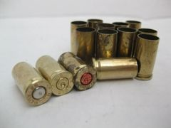 .32 Auto, Assorted Brand, used brass cases, 50 pk