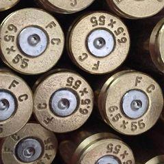 6.5 X 55mm Sweedish, 'Federal', Brass 20pk