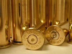 .44 Rem Magnum, 'WW Super', Used Brass cases 50 pack.