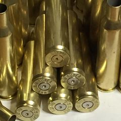6mm Rem, 'WW Super', used brass cases, 20 pk