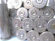 .357 Magnum, Assorted Brand, Nickel cases. 100pk