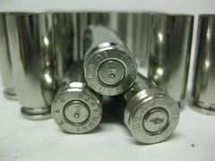 10 mm Auto, Assorted Mfgr, Nickel Plated 100