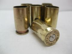 .45 ACP, 'Federal' brand, used brass cases. 100pk
