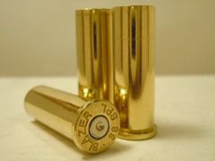 .38 Special, Assorted Brand, Used Brass pistol cases.
