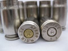 .357 SIG, Mixed Mfgr, Nickel Plated, 100 pk