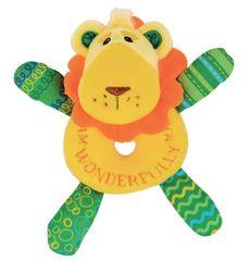 Luca the Lion Cub Rattle